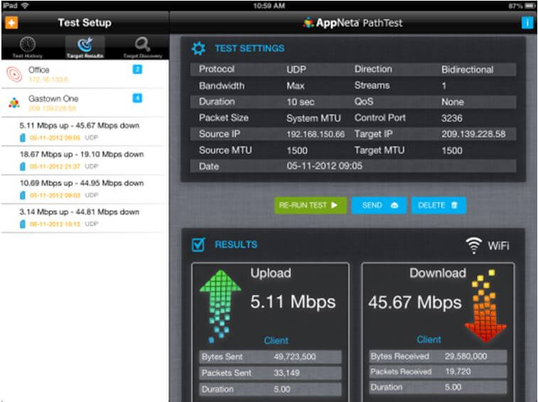 New FREE iOS App for Network Performance