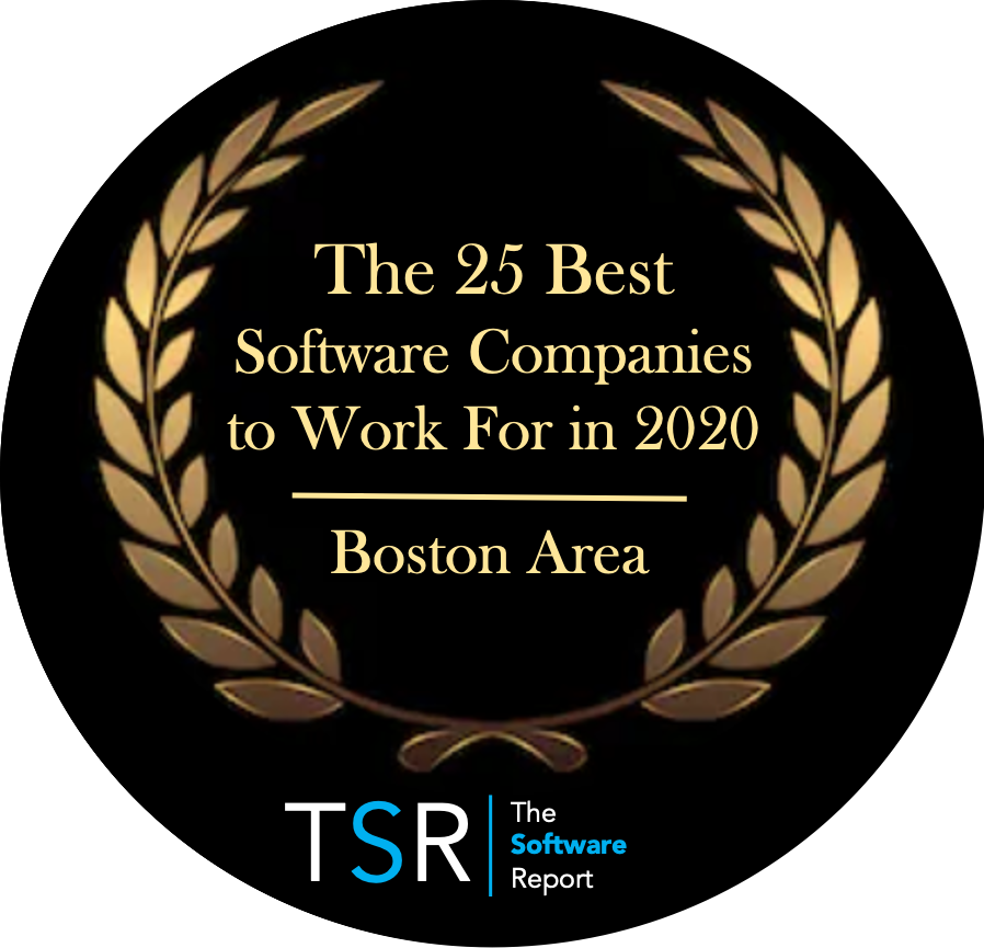 TSR #2 Best Software Company to Work for in 2020 — Boston Area