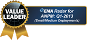 Enterprise research firm EMA named AppNeta a leading performance monitoring vendor.