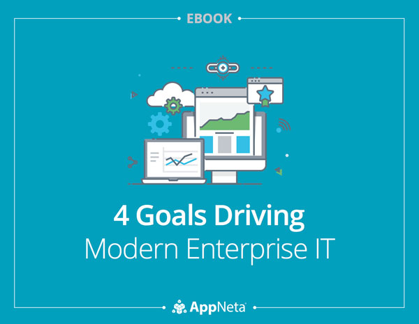 4 Goals Driving Modern Enterprise IT