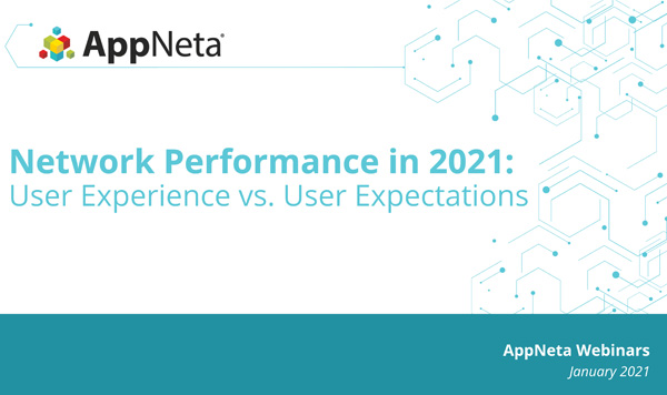 Network Performance in 2021: User Experience vs. User Expectations