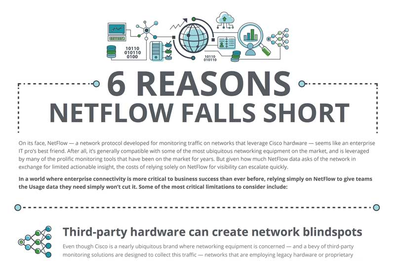 6 Reasons NetFlow Falls Short