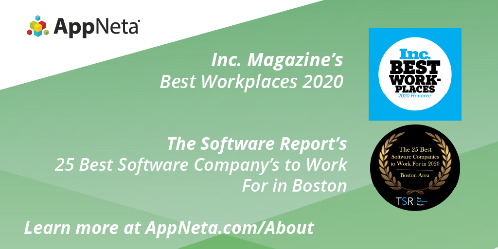 AppNeta scores two major accolades honoring workplace culture