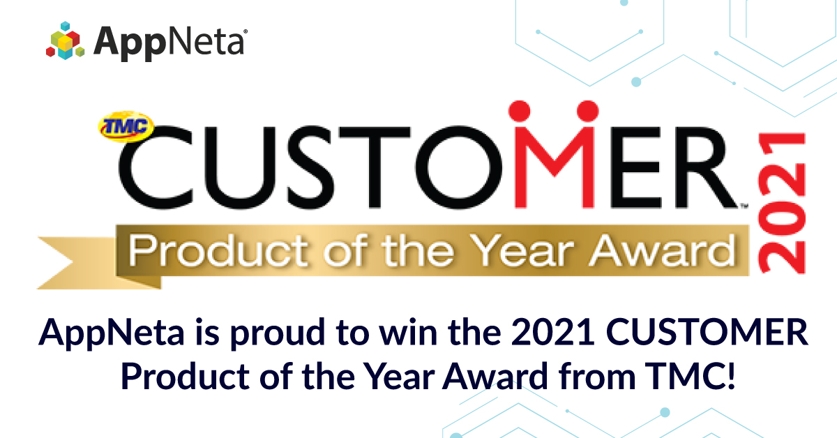 AppNeta wins 2021 CUSTOMER Product of the Year Award