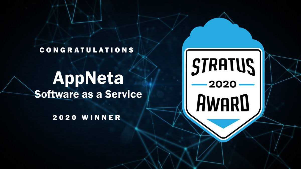 AppNeta wins 2020 BIG Stratus Award for Cloud